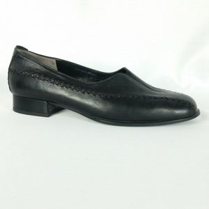 Gabor 6/US 8 Black Loafer Comfort Shoes S21-3